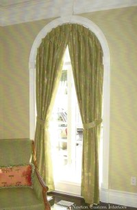 What To Do With An Arched Window? - Newton Custom Interiors