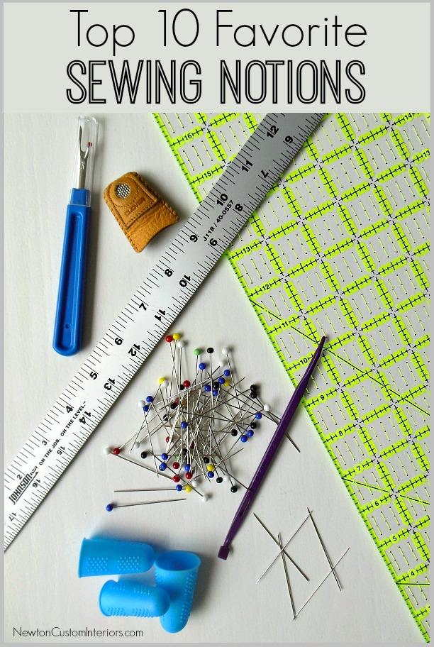 Sewing Notions Fabric : sewing, notions, fabric, Favorite, Sewing, Notions, Newton, Custom, Interiors
