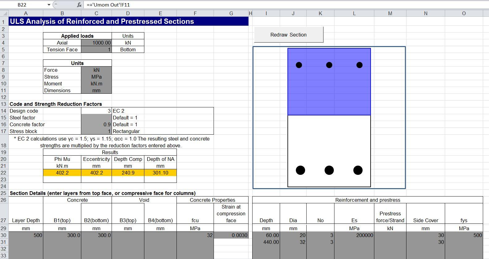 Concrete Uls Spreadsheet Update 2