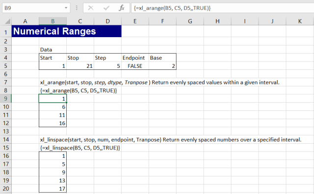 More Numpy with Excel and xlwings | Newton Excel Bach. not (just) an Excel Blog