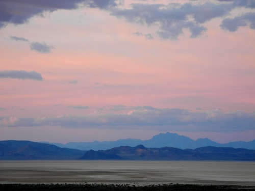 Evening on the Black Rock Desert, Nevada, NV