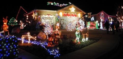 Christmas lights displays, Reno, Sparks, Nevada, NV