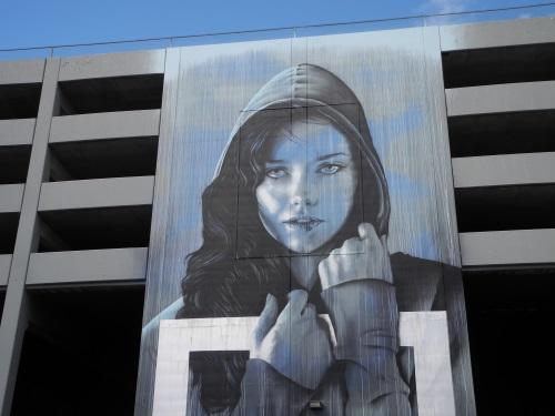Face of Reno mural, Nevada, NV
