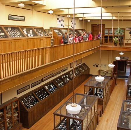W. M. Keck Earth Science and Mineral Engineering Museum