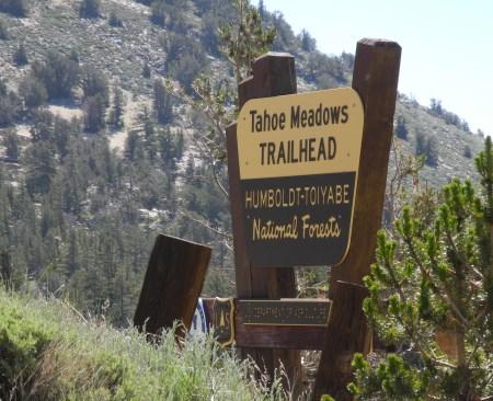 Tahoe Meadows Trailhead, hiking, Reno, Nevada