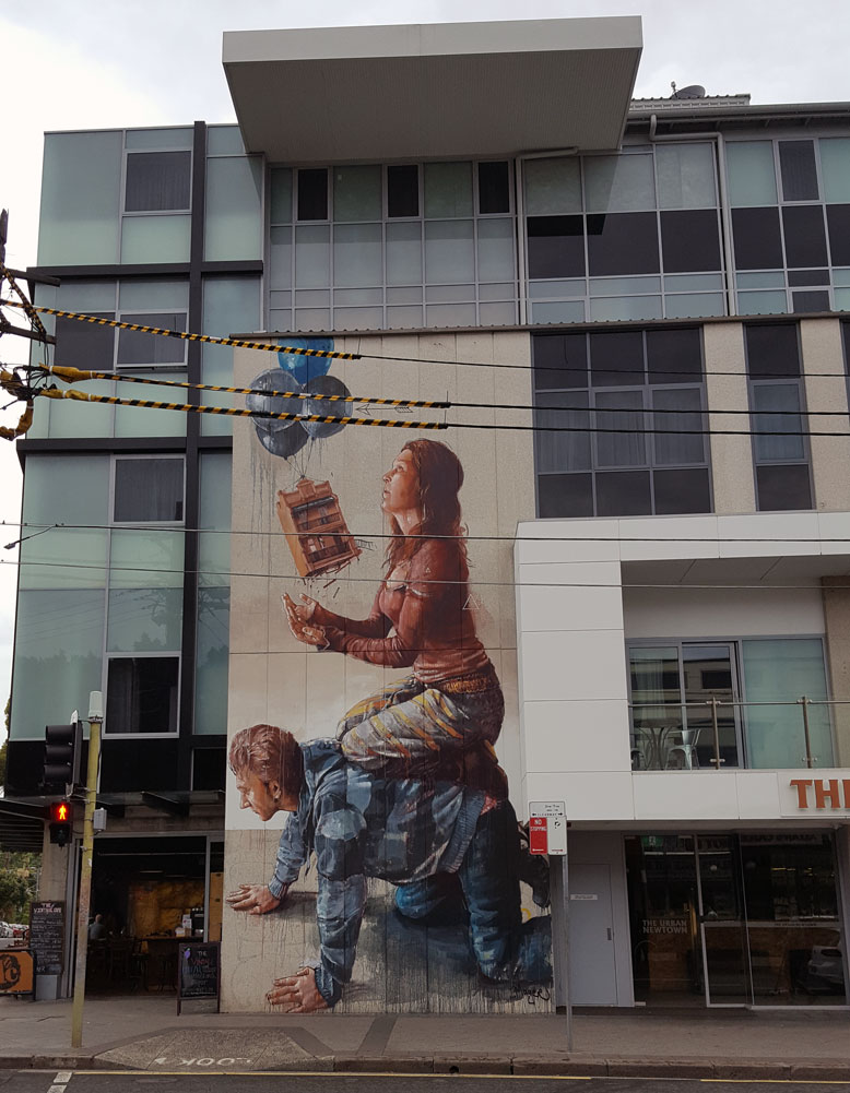 Housing Bubble by Fintan Magee