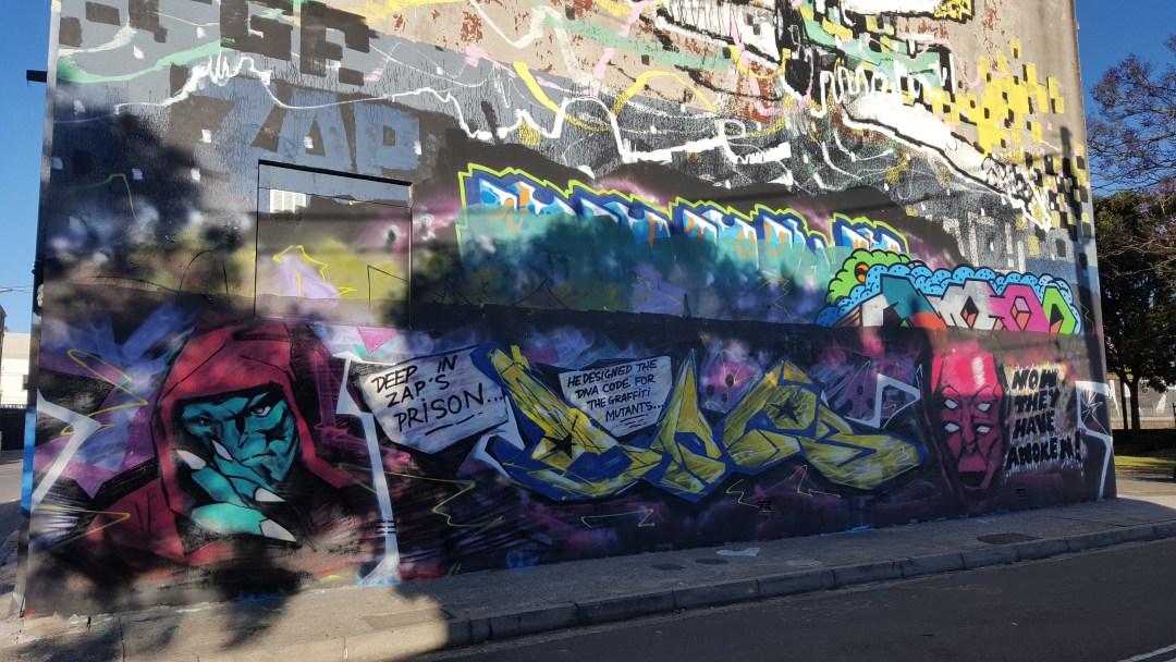 Mural by Zap, Doer, Lister