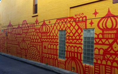 Untitled Mural – Nico