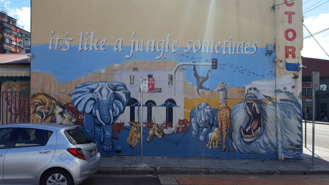 Newtown Street Art Graffiti Enmore Road