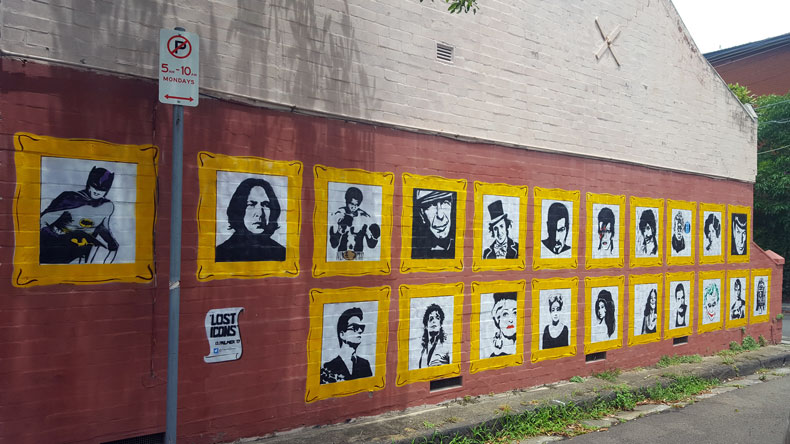 Lost Icons Art Campbell Lane