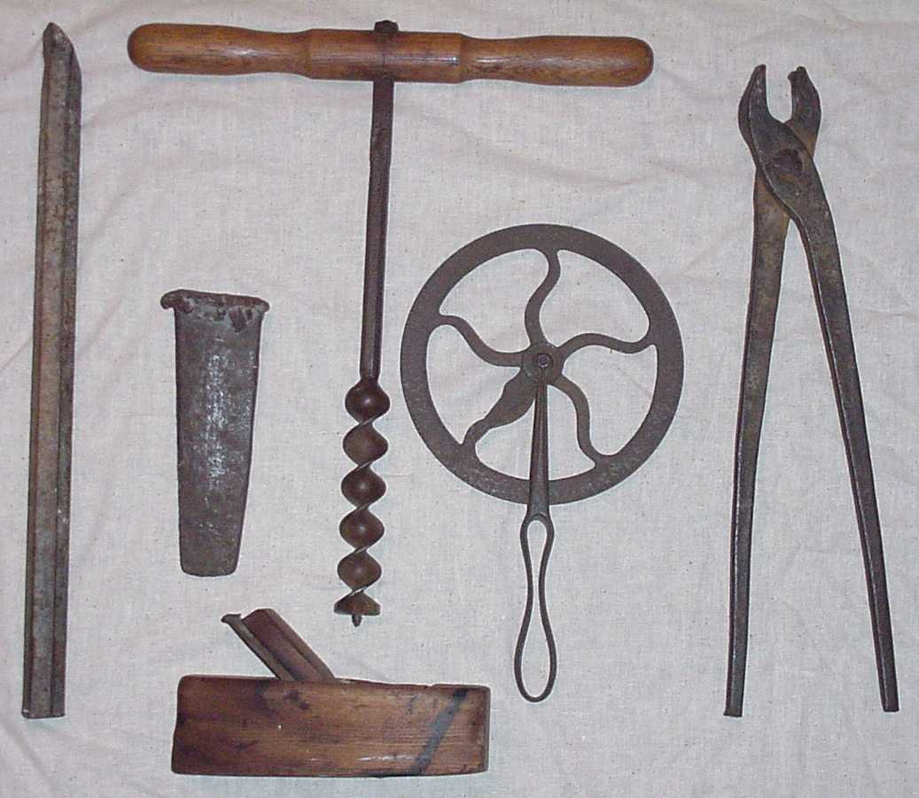 Antique Metal Working Tools