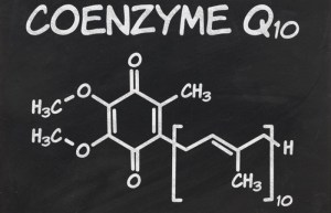 Coenzynme q10 molecule