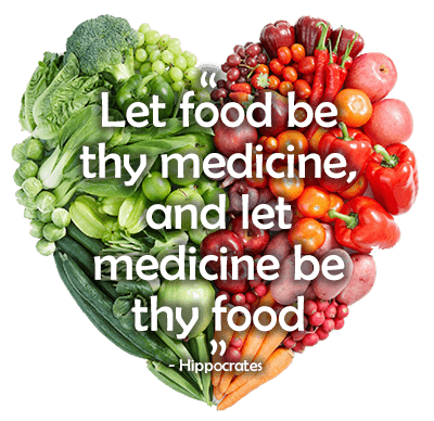 Let Food Be Thy Medicine, And Let Medicine Be Thy Food - Hippocrates