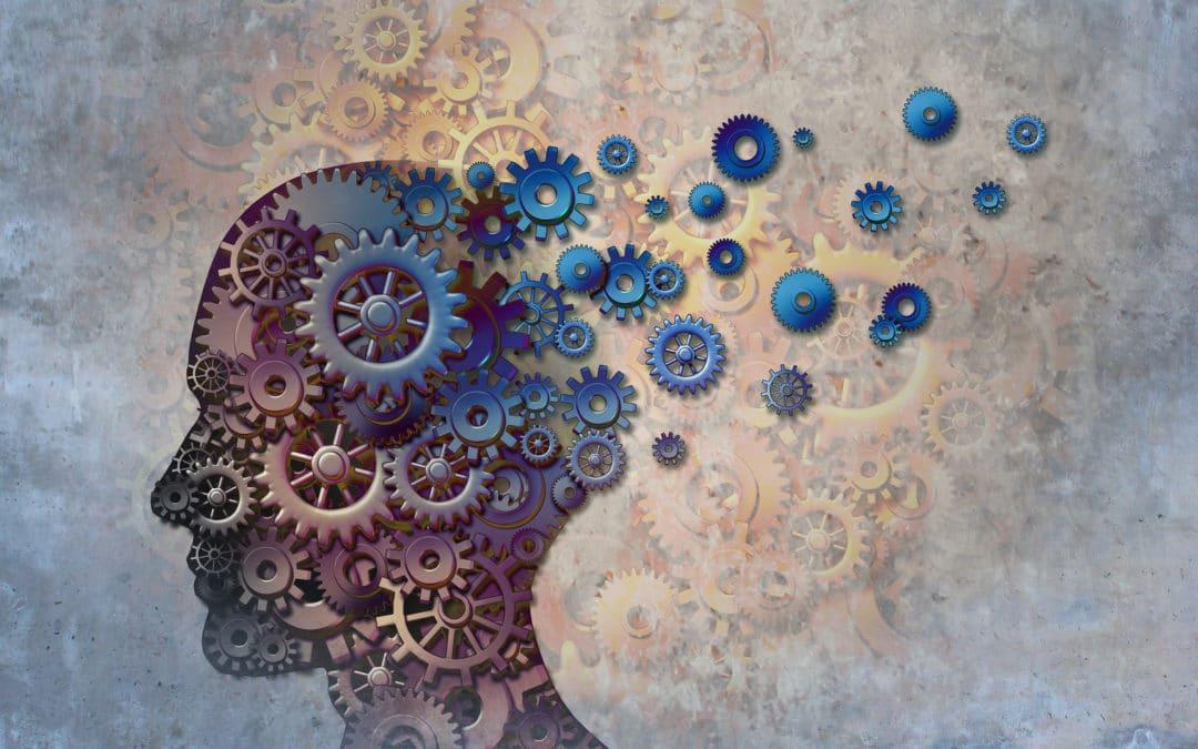 Head gears representing memory