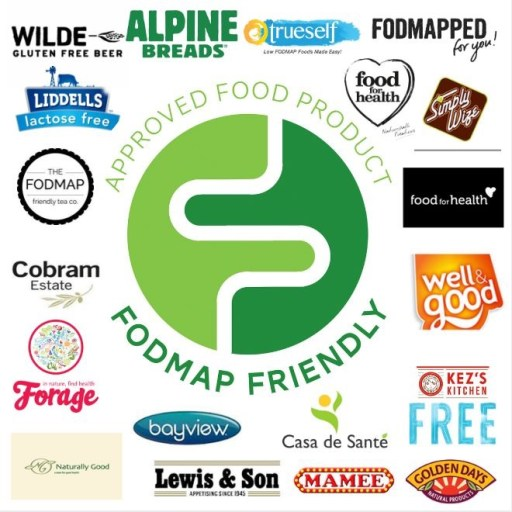 FODMAP friendly approved low FODMAPs products brands - FODMAP phone apps review