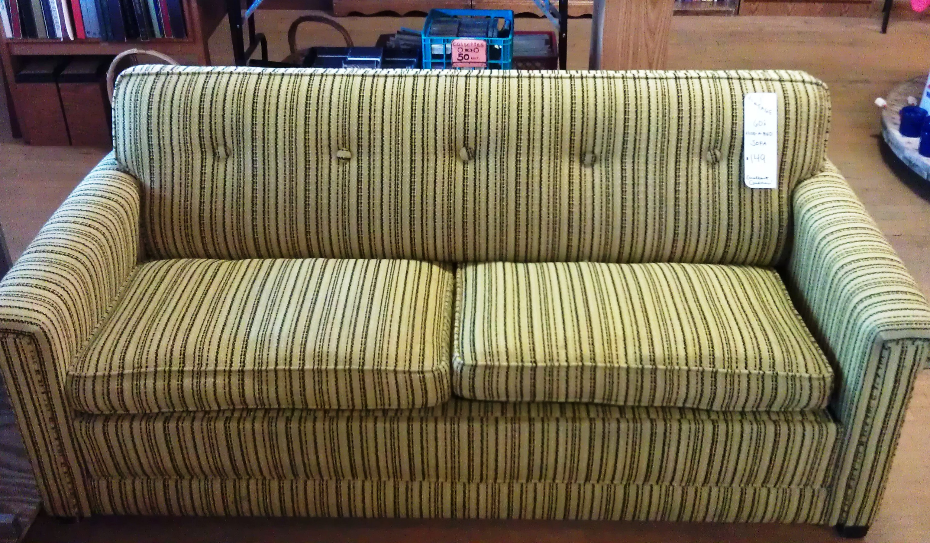Chair Hide A Bed Vintage Hide A Bed Sofa New To You Thrift Shop