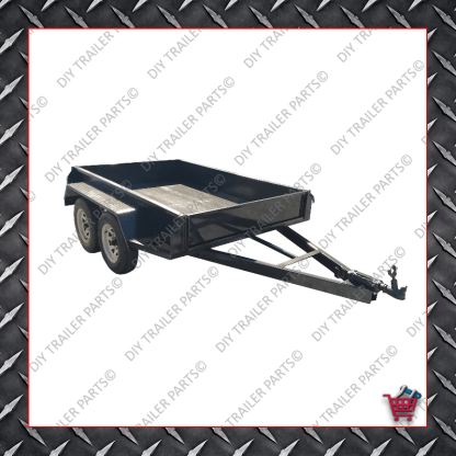 BOX TRAILER - TANDEM AXLE