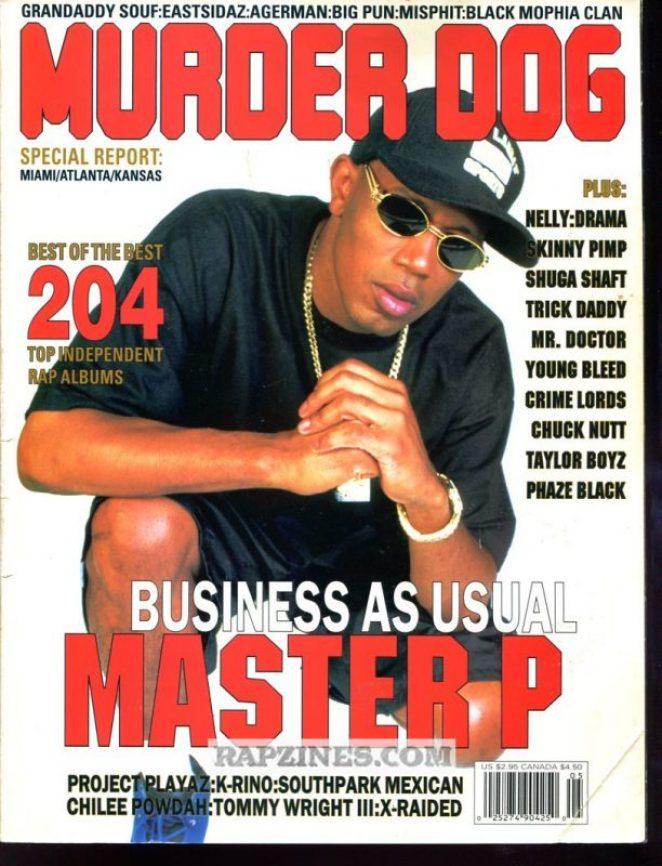 Master P Murder Dog Cover