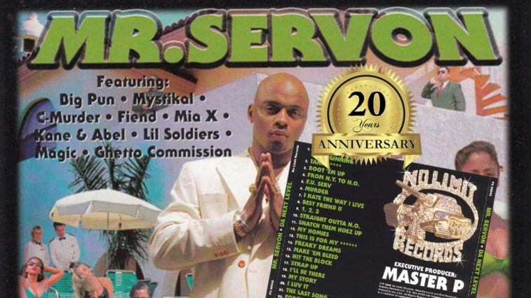 NGZ 20 Year Anniversary Series: Mr  Serv-On - Da Next Level [Album