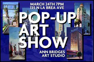pop up art show