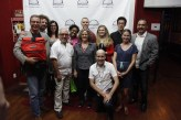 All the participants in the filmaking challenge.