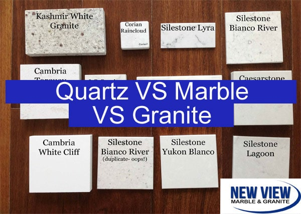 Marble And Granite Vs Quartz Countertops Learn All About The