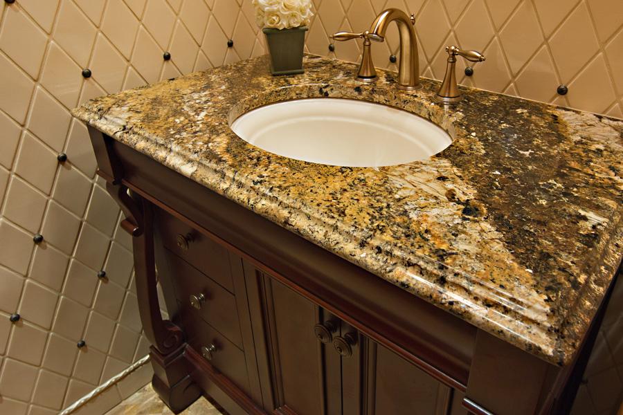 why choose a granite countertop for bathroom vanity?