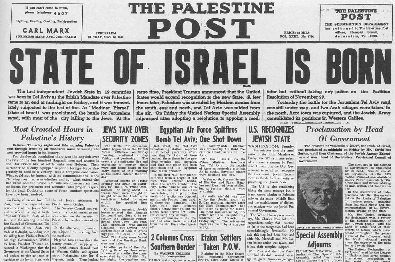 Perspectives On Israeli Independence Celebrate
