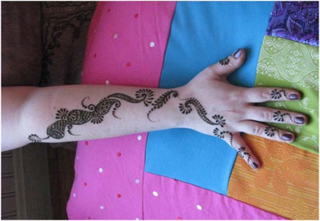 Cute Islamic Couples Hd Wallpapers Simple Mehndi Designs Photos Picture Hd Wallpapers Hd Walls
