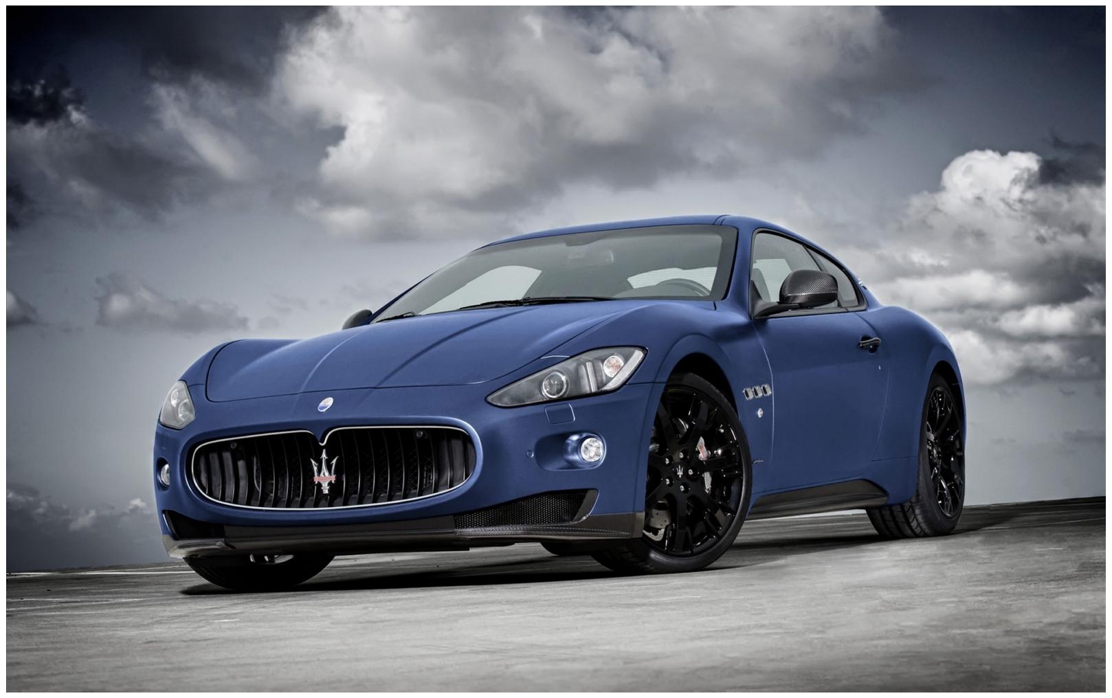 Maserati Granturismo Car Hd Wallpapers  View Wallpapers