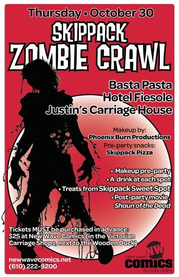 zombie crawl 2014 poster