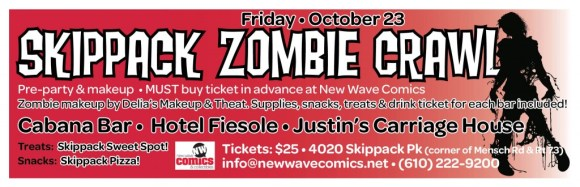 new wave_zombie crawl 2015 1up flyer