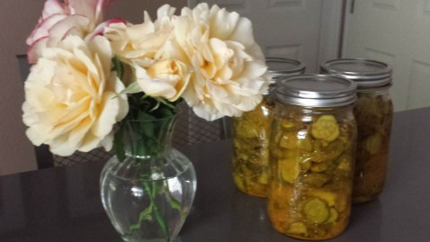 Roses and pickles