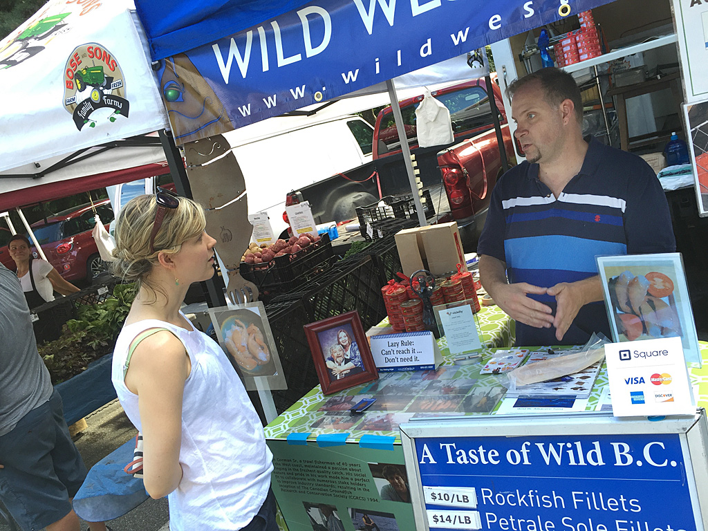 Learning all about the health benefits of B.C. caught wild Albacore tuna
