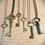 jewelry from bits and keys