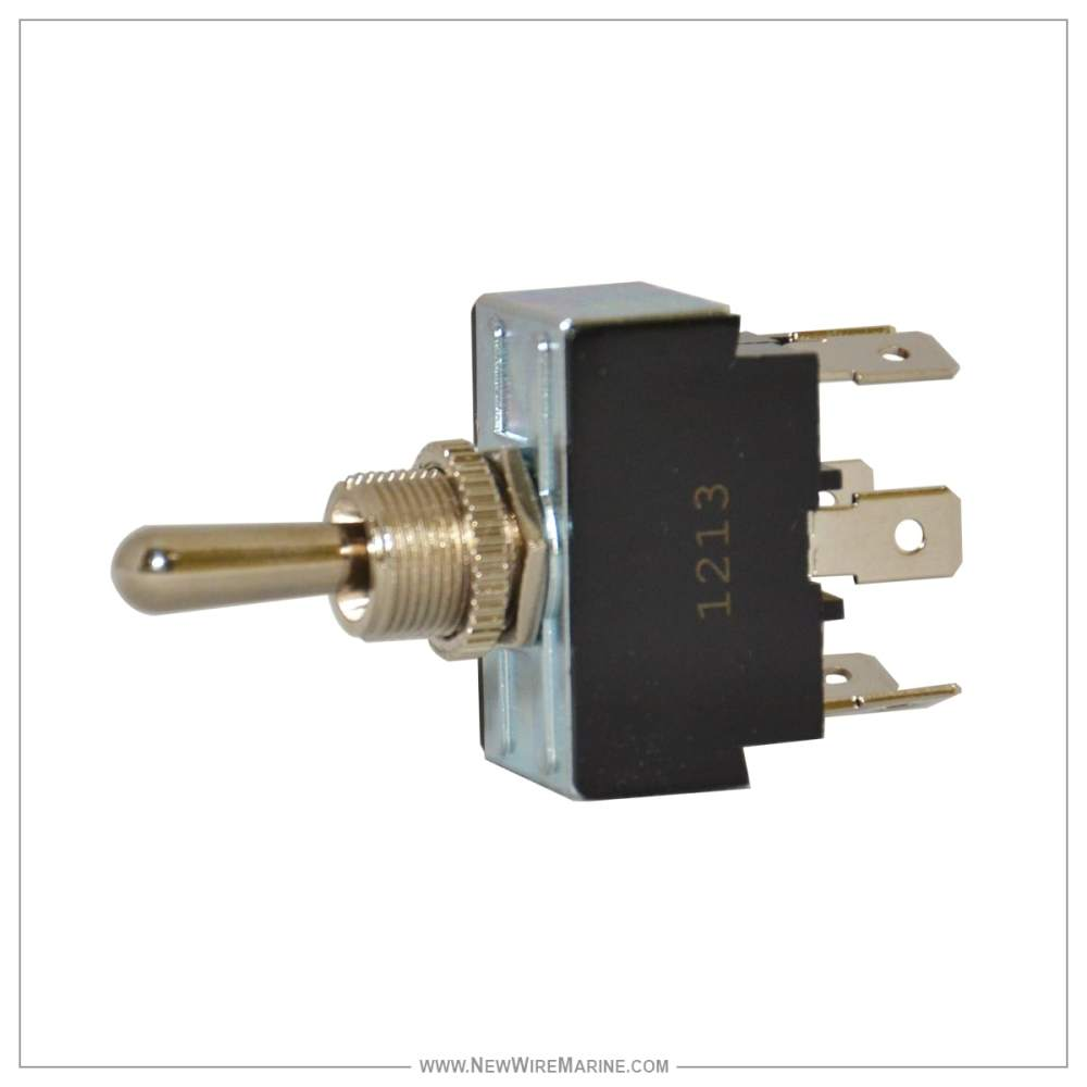 medium resolution of 3 way toggle switch spst on off on new wire marine toggle switch dpdt onoffon new wire marine