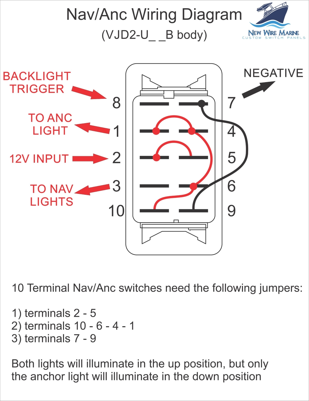 hight resolution of nav anchor switch wiring diagram
