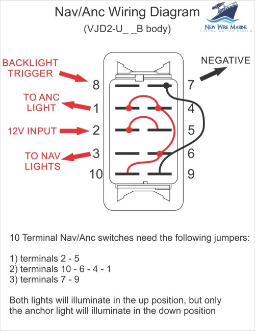 small resolution of nav anchor switch wiring diagram