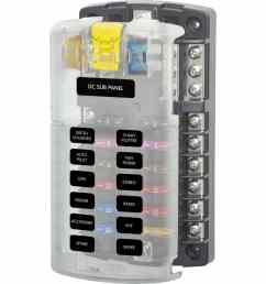 12 circuit fuse block [ 1200 x 1200 Pixel ]