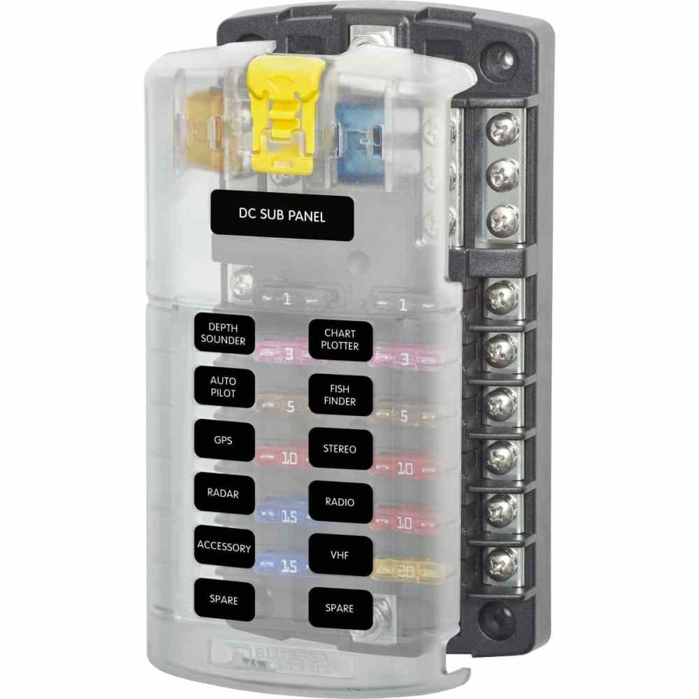 medium resolution of 12 circuit fuse block