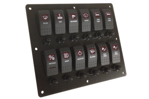 Custom Boat Switch Panel