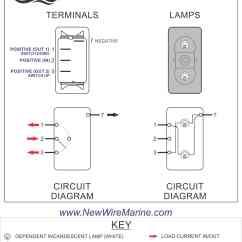 Contura Switch Wiring Diagram Cobra Cb Radio Livewell Fill Aerate Rocker Carling Ii