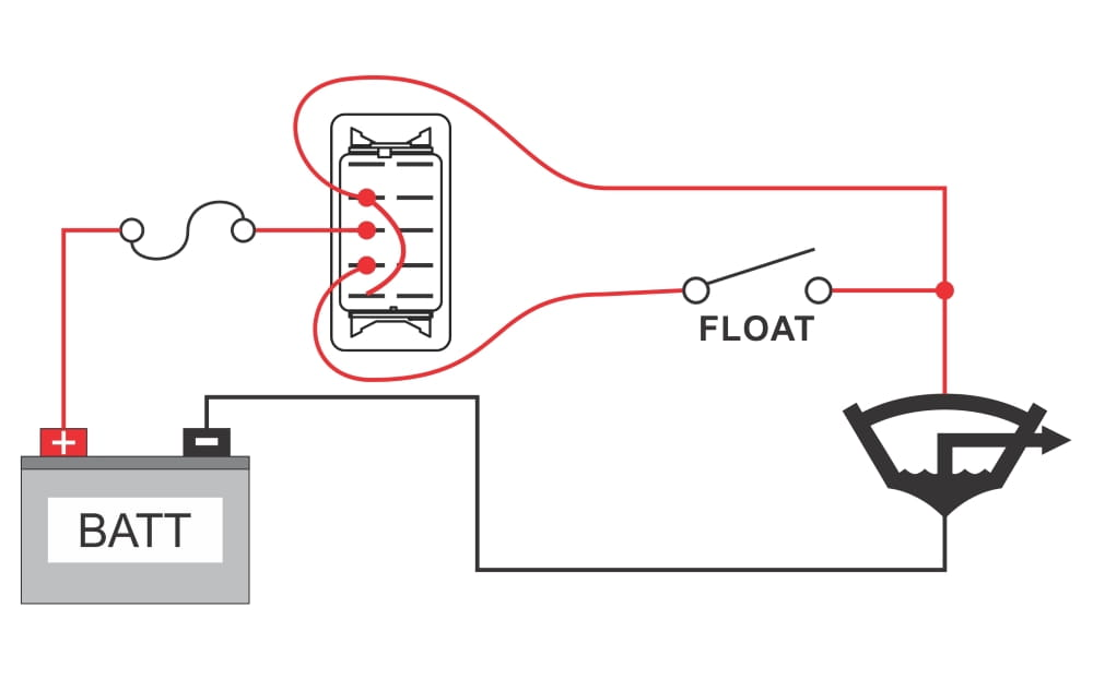 wiring diagram for two single pole switches