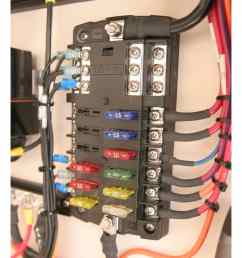 12 circuit marine fuse block with negative bus new wire marine12 circuit fuse block [ 1000 x 1000 Pixel ]