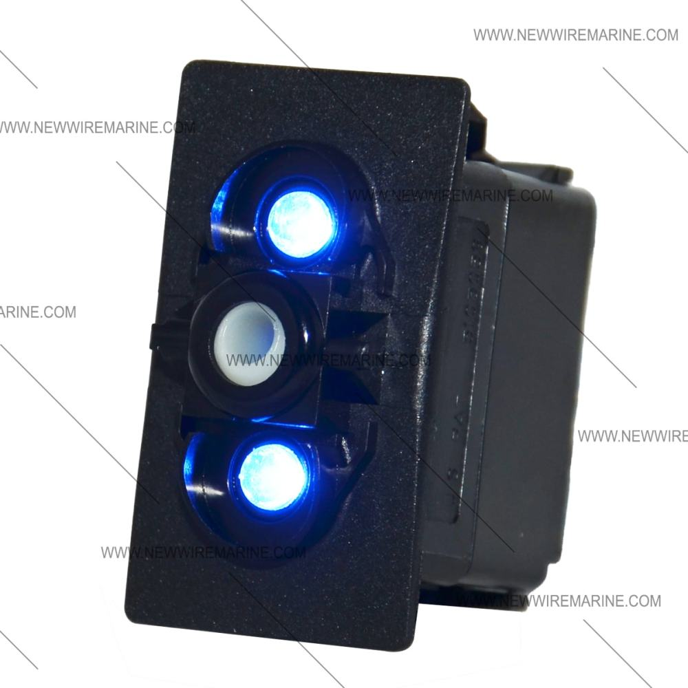medium resolution of blue led on off rocker switch carling