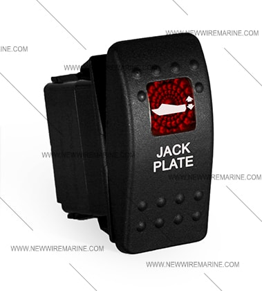 bennett trim tab wiring diagram mitsubishi montero jack plate rocker switch | carling contura ii illuminated accessory