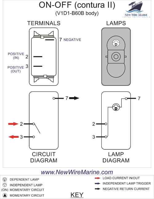 small resolution of rocker switch wiring diagrams new wire marine 2 way light wiring 6 terminal switch wiring 2 way