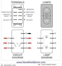rocker switch wiring diagrams new wire marine rh newwiremarine com illuminated rocker switch wiring diagram light [ 1000 x 1294 Pixel ]