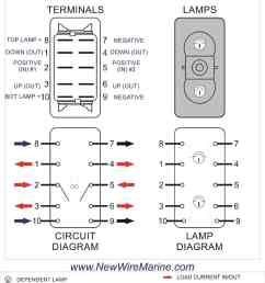 rocker switch wiring diagrams new wire marine 6 pole rocker switch wiring diagram 6 pole switch wiring diagram [ 1000 x 1294 Pixel ]