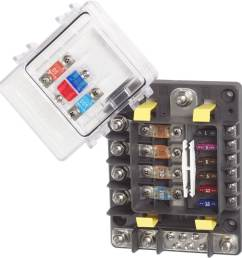 safetyhub blue sea 7748 multi circuit block new wire marine blue fuse box blue fuse box [ 1000 x 1000 Pixel ]